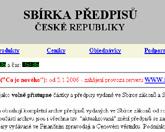 Novela zákona o ISVS publikována ve Sbírce zákonů