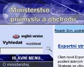 Elektronickou komunikaci a poštovní služby převzalo ministerstvo průmyslu a obchodu