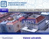 MPSV představilo novinky na svém webu o trhu práce