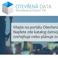 Otevřená data Ministerstva financí